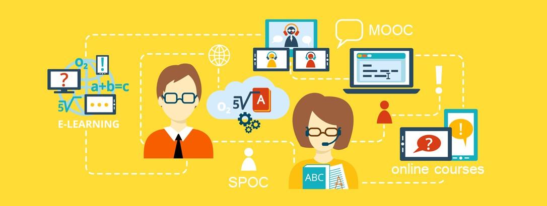 L'essor des classes virtuelles : MOOC et SPOC